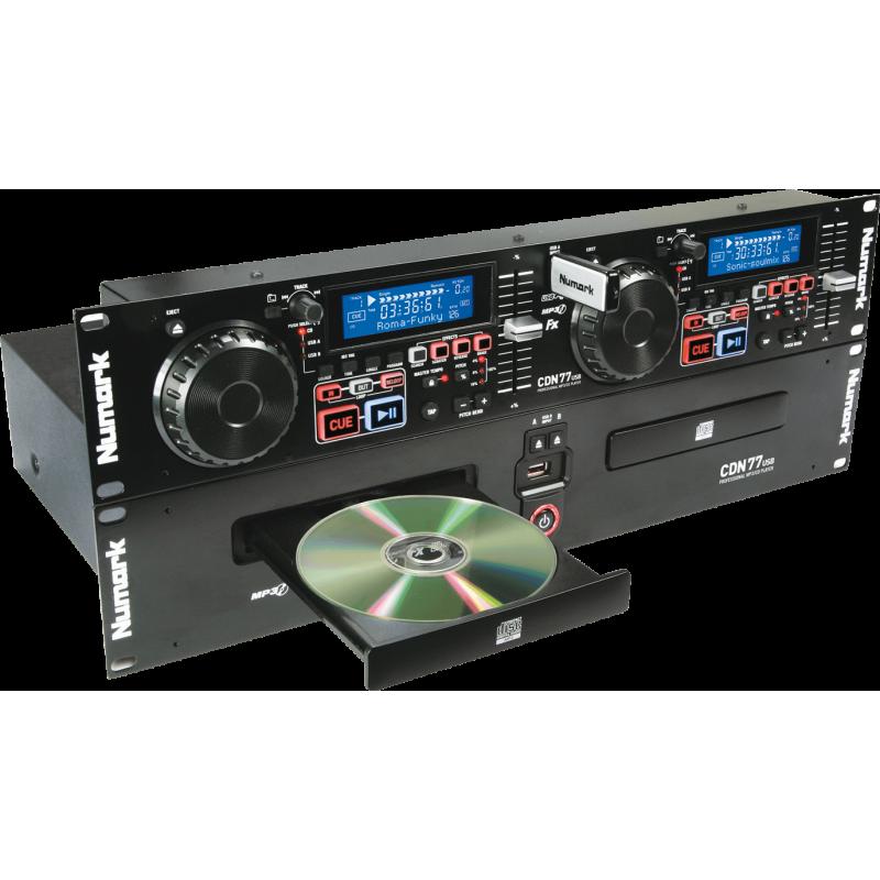 Numark - CDN77USB double CD Rackable MP3/USB