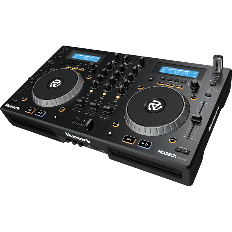 Numark - MIXDECKEXBK STATION DJ CD-MP3-USB MIDI
