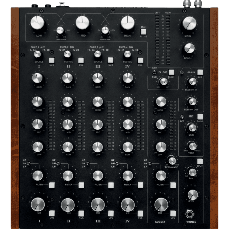 Rane DJ - MP2015 Table 4 voies + Submix - Rotative