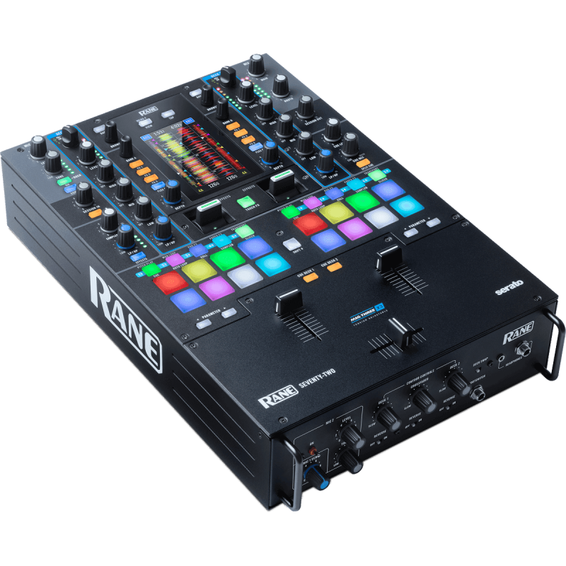 Rane DJ - SEVENTY-TWO mixeur 2 voies, 2 USB, Ecran tactile 4,3""