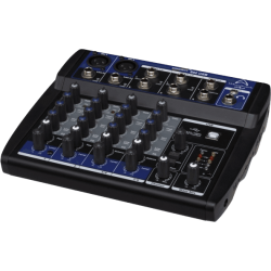 Wharfedale pu connect802 - Usb - Bk - table de mixage 4 voies
