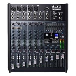 Alto pro - Live802 - 8 canaux table de mixage 2 bus