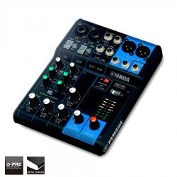 Yamaha MG06- console de mixage