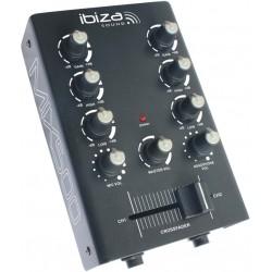 Ibiza Mix500BT - Table de mixage 2 canaux