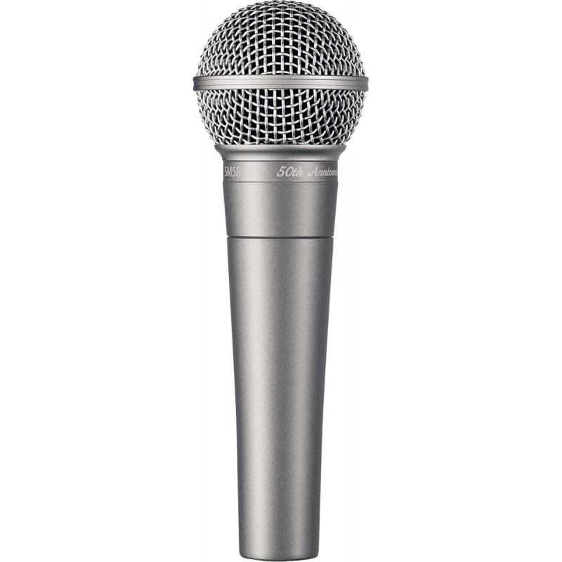 Micro SM58 - 50A Voix - SM58 - Edition 50ème Anniversaire - Collector Shure