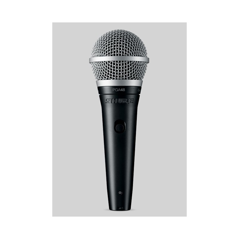 PGA48 - XLR Micro voix dynamique cardioïde Shure