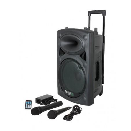 MIPRO Sono portable MA505 + housse + micro-cravate sans fil et son émetteur et récepteur