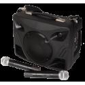 MIPRO Sono portable MA707PA + housse + micro-cravate sans fil et son émetteur et récepteur